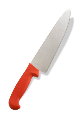 "Crestware - KN31R - 10"" Cooks Knife, Red - Maltese & Co New and Used  restaurant Equipment"