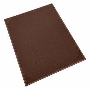 "Winco - LMS-814BN - Single View Menu Cover For 8-1/2 X 14"" Inserts, Brown - Dining Service - Maltese & Co New and Used  restaurant Equipment"