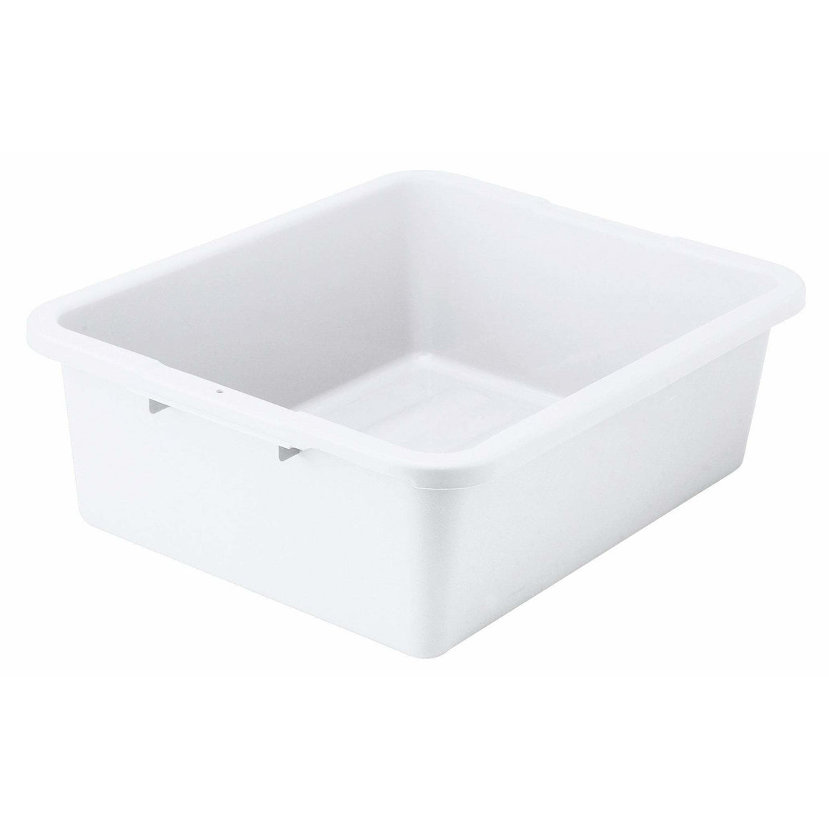 "Winco - PLW-7W - 7"" Dish Box, Heavy-duty, White - Bussing - Maltese & Co New and Used  restaurant Equipment"