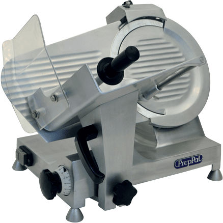 "Atosa - PrepPal - PPSL-10 - 10"" Electric Meat Slicer 1/4 HP - Compact Manual Slicer - Maltese & Co New and Used  restaurant Equipment"