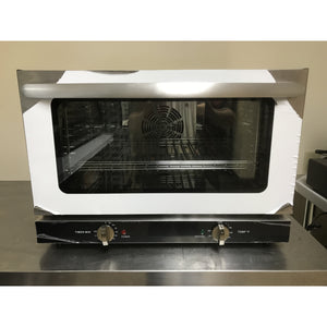 Omcan - FD-47 - Counter top Convection Oven Half Size- (4) Pans