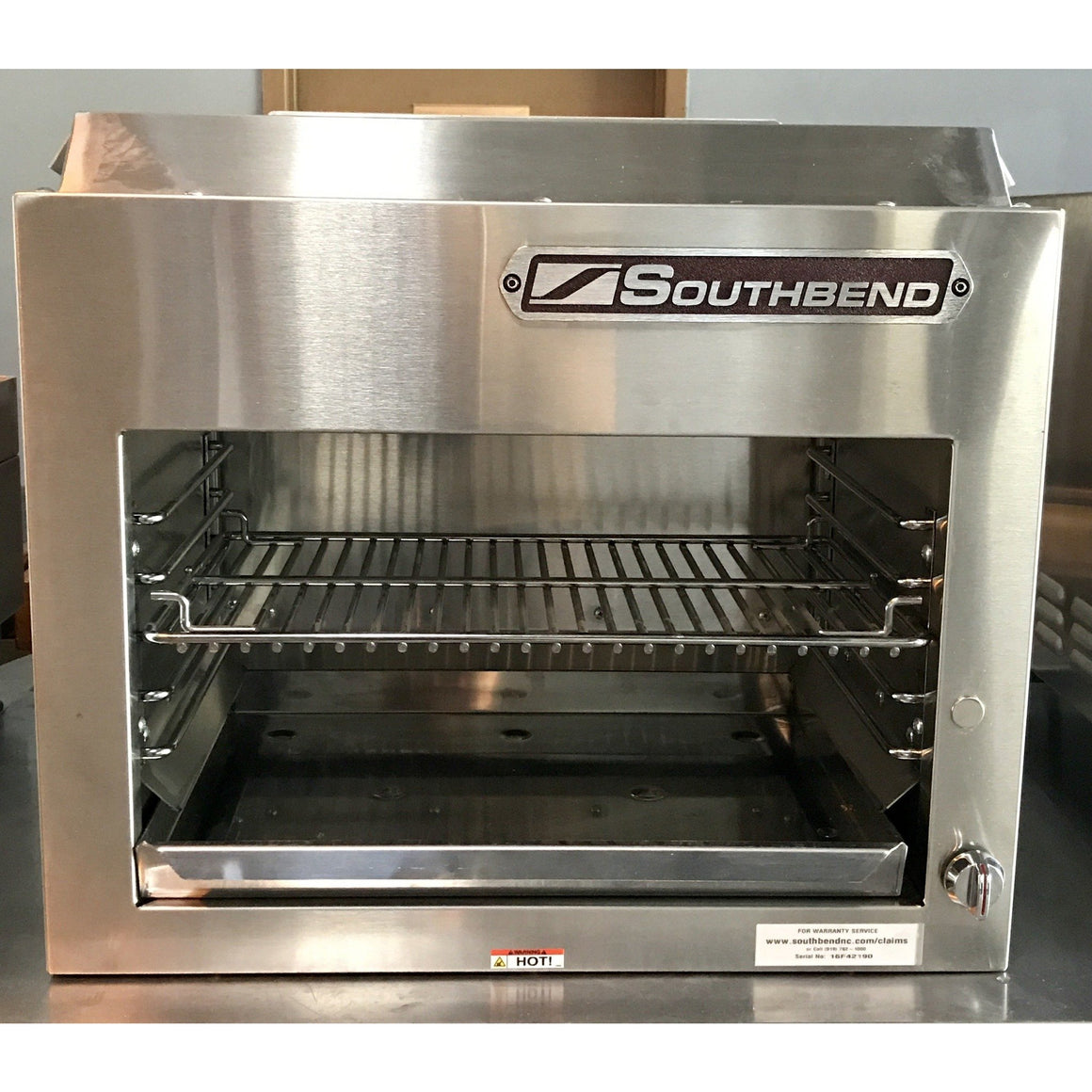 "Southbend- Commercial Infrared Heavy Duty 24"" Cheese Melter-SB-P24CMC-16F42190-N"