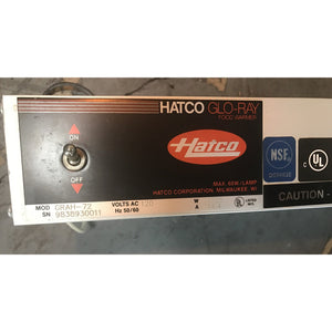 "HATCO- 72"" Commercial Kitchen Heat Lamp-HT-GRAH72-N - Maltese & Co New and Used  restaurant Equipment"