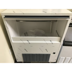 Ampto- Ice Maker with Bin- Cube Style (140lb)-AO-SL140A-2017050846319-N - Maltese & Co New and Used  restaurant Equipment