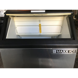 Maxx Ice -Self contained Ice Maker with 35lb capacity storage Bin-MX-MIM130-N