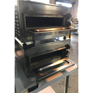 What A Pizza- Table Top Conveyor Pizza Ovens -Used -230V 50Hz Singple Phase 9.9Amps-Wp-M358-0106685-U