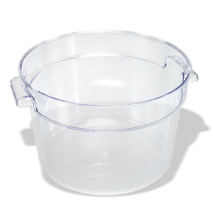 Crestware - RCC12 - 12 qt. Round Clear Container - Maltese & Co New and Used  restaurant Equipment