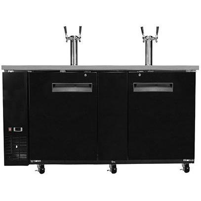 "Saba Air - 69"" Beer Dispenser with (2) Double Tap-SB-STDD2769-8417-N"