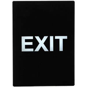 "Winco - SGN-805 - Stanchion  Sign, ""Exit"" - Dining Service - Maltese & Co New and Used  restaurant Equipment"