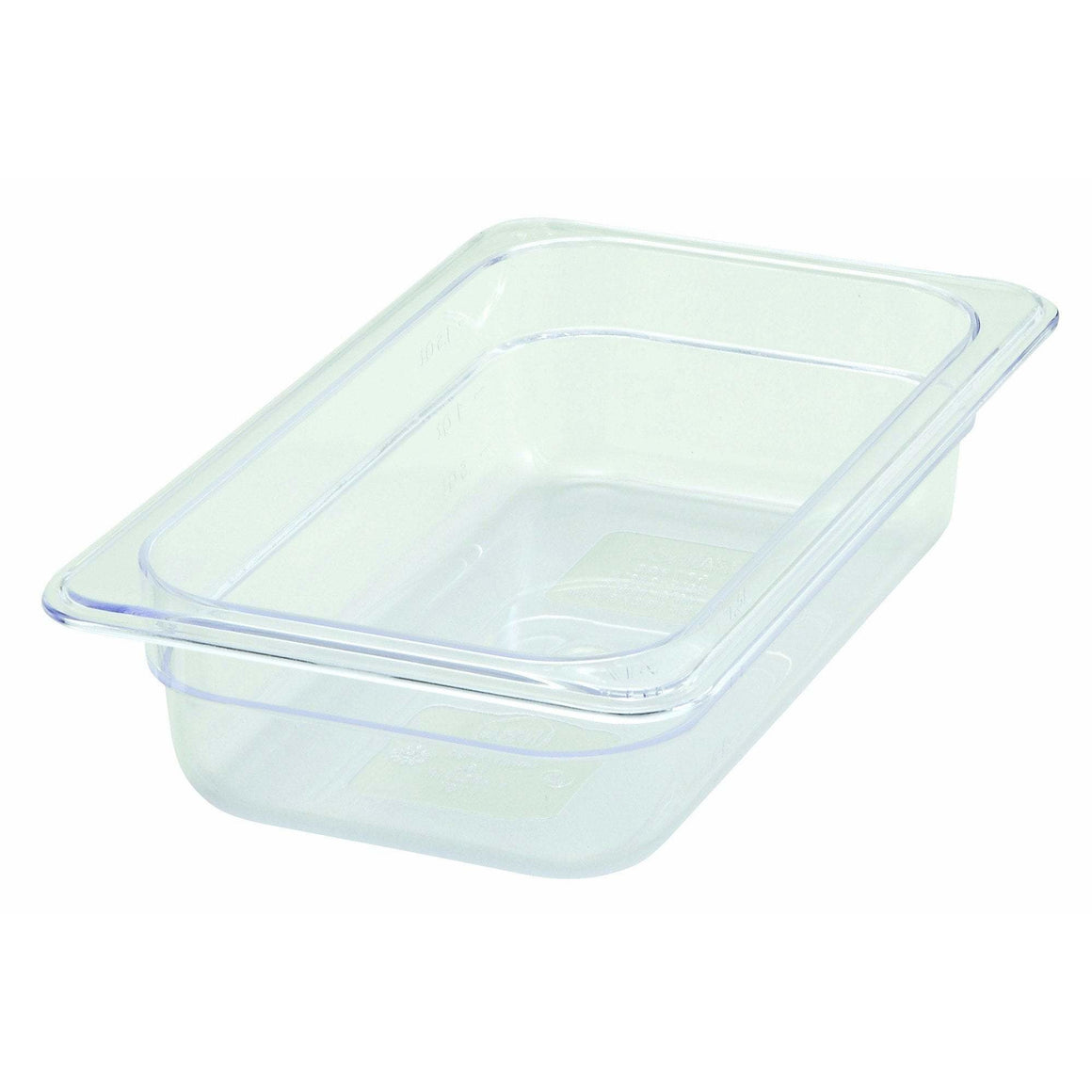 "Winco - SP7402 - PC Food Pan, 1/4 Size, 2-1/2"" - Food Storage"