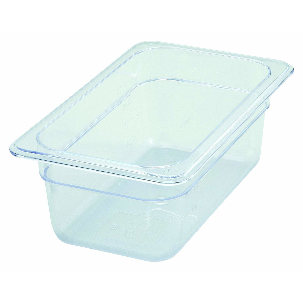 "Winco - SP7404 - PC Food Pan, 1/4 Size, 4"" - Food Storage"