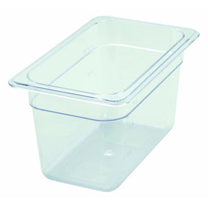 "Winco - SP7406 - PC Food Pan, 1/4 Size, 6"" - Food Storage - Maltese & Co New and Used  restaurant Equipment"
