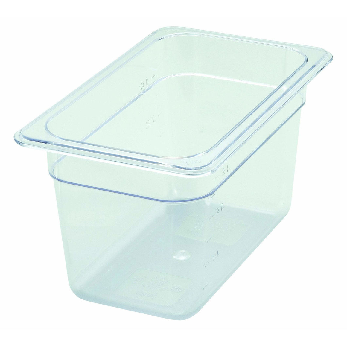"Winco - SP7406 - PC Food Pan, 1/4 Size, 6"" - Food Storage"