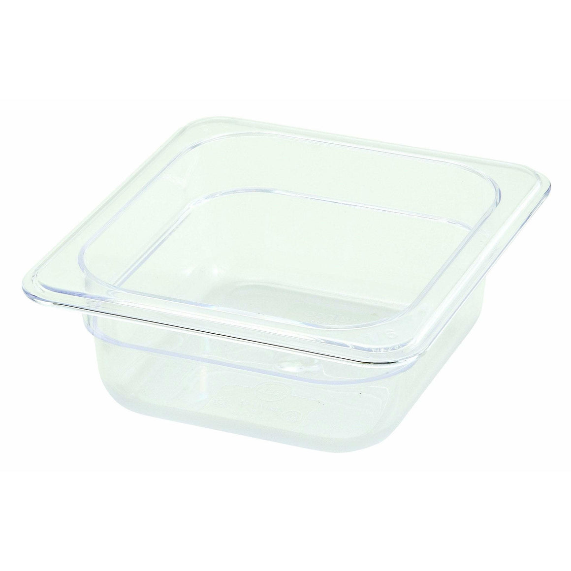 "Winco - SP7602 - PC Food Pan, 1/6 Size, 2-1/2"" - Food Storage"