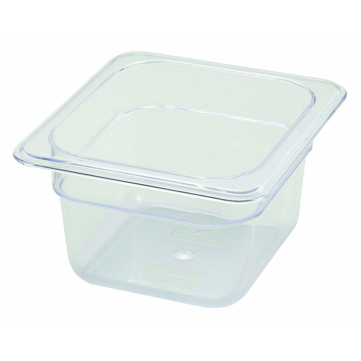 "Winco - SP7604 - PC Food Pan, 1/6 Size, 4"" - Food Storage"