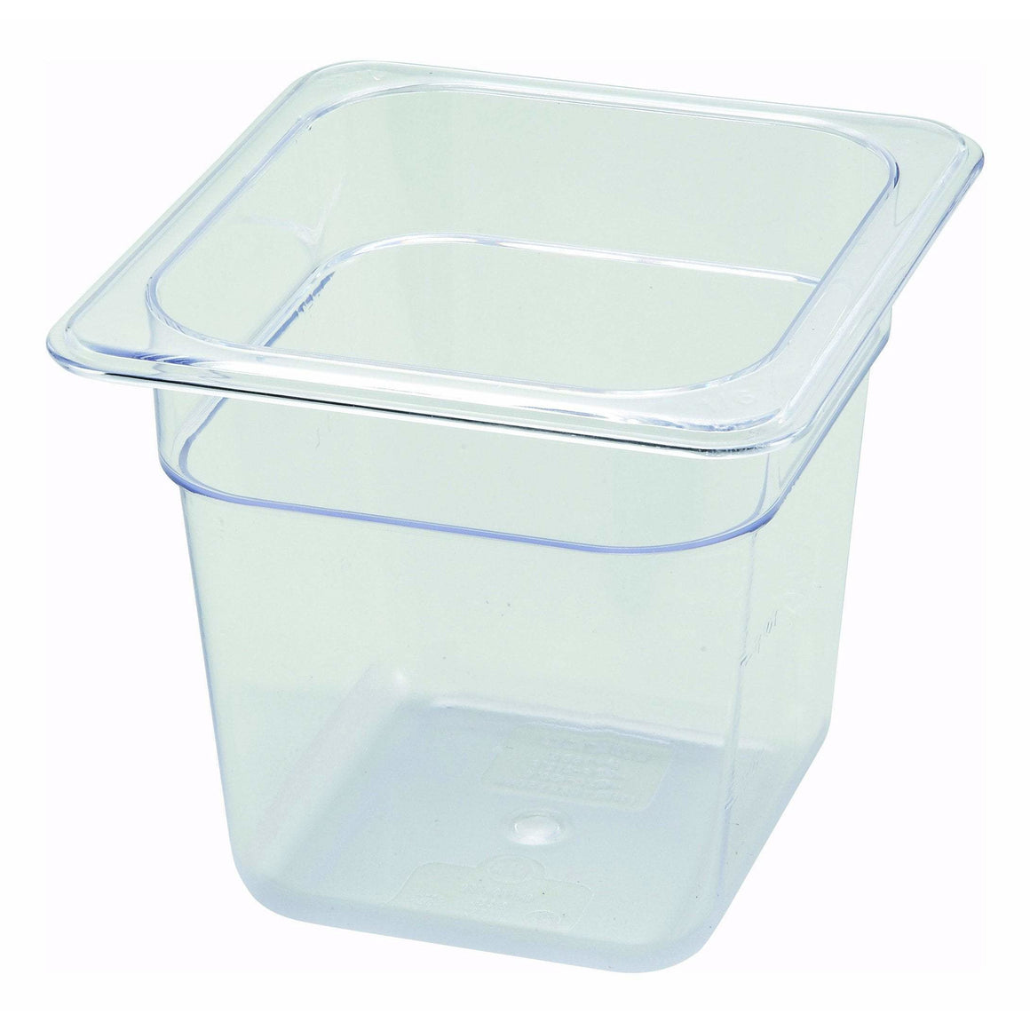 "Winco - SP7606 - PC Food Pan, 1/6 Size, 6"" - Food Storage"
