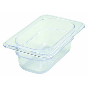 "Winco - SP7902 - PC Food Pan, 1/9 Size, 2-1/2"" - Food Storage"