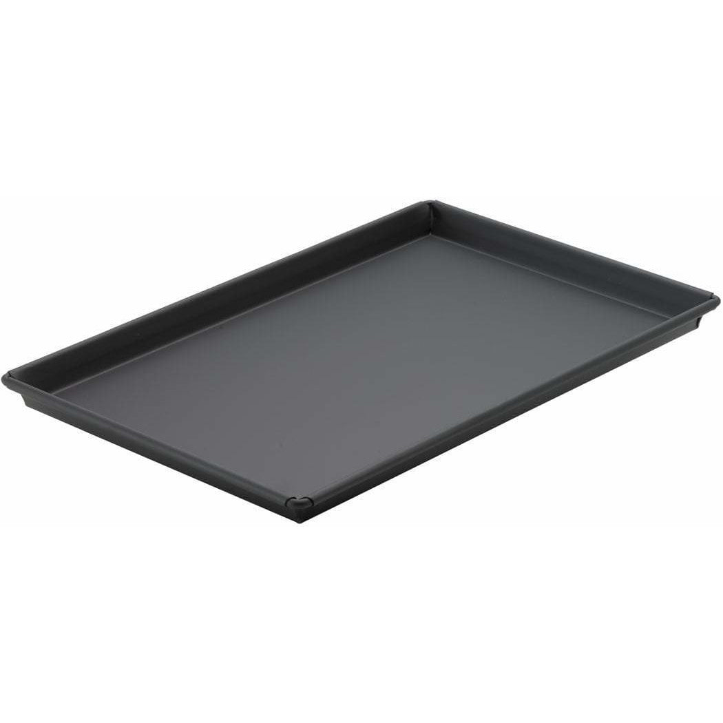 "Winco - SPP-1218 - Sicilian Pizza Pan,  12"" x 18"" x 1"", Heavyweight Rolled Steel, Non-stick - Pizza Supplies"