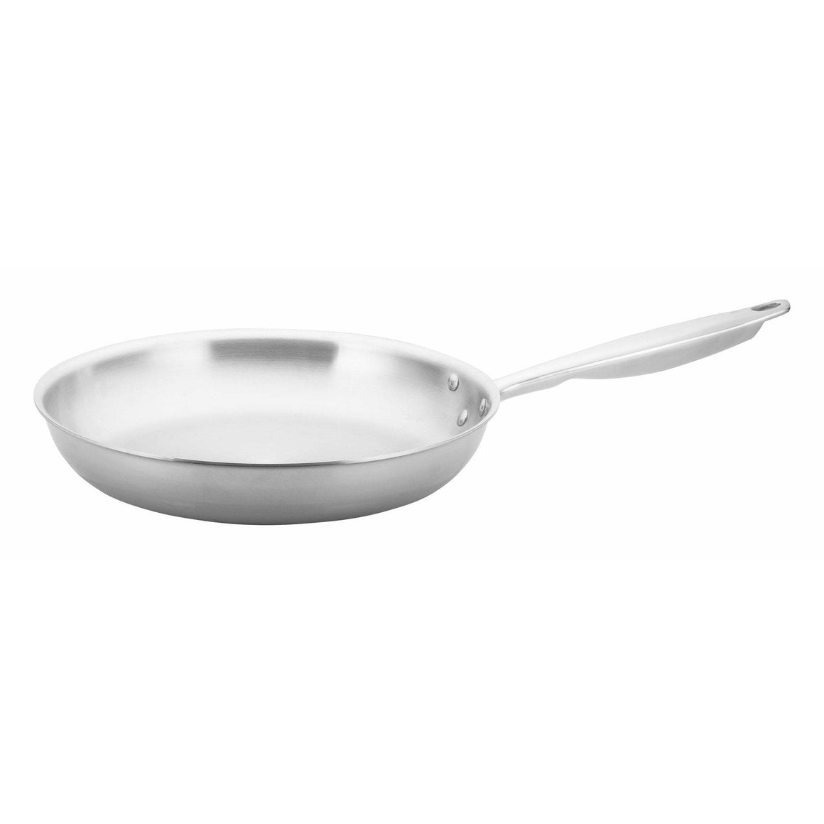 "Winco - TGFP-12 - TRI-GEN™ Tri-Ply Fry Pan, Natural, 12"" - Cookware"