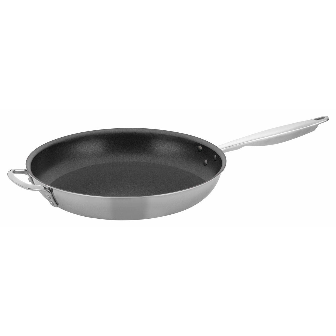 "Winco - TRI-GEN™ Tri-Ply Fry Pan, Non-stick, 14"" Excalibur - Cookware - Maltese & Co New and Used  restaurant Equipment"