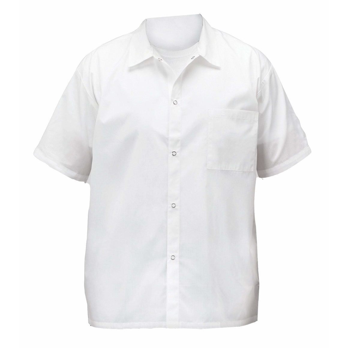 Winco - UNF-1WXXL - Chef shirts, white, 2X - Apparel
