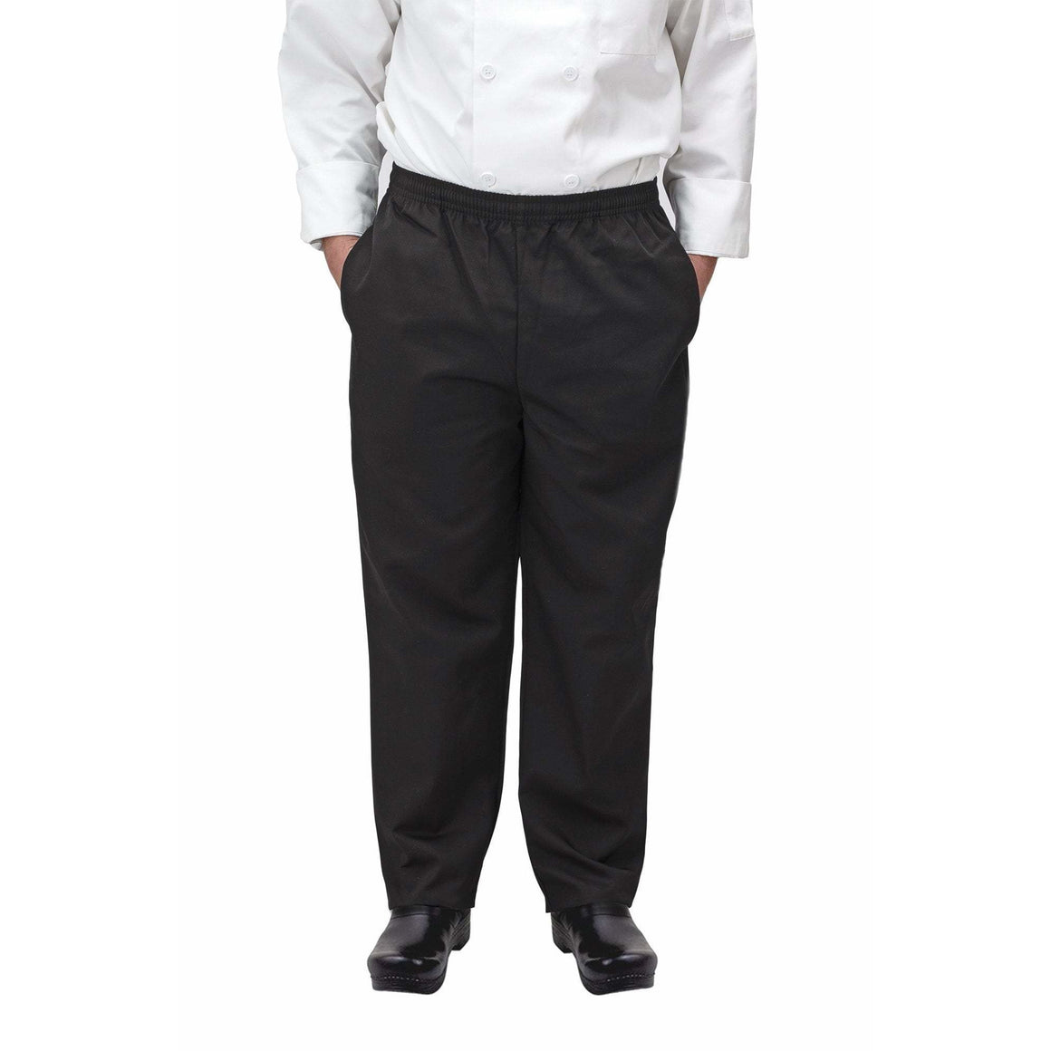 Winco - UNF-2KL - Chef pants, black, L - Apparel - Maltese & Co New and Used  restaurant Equipment
