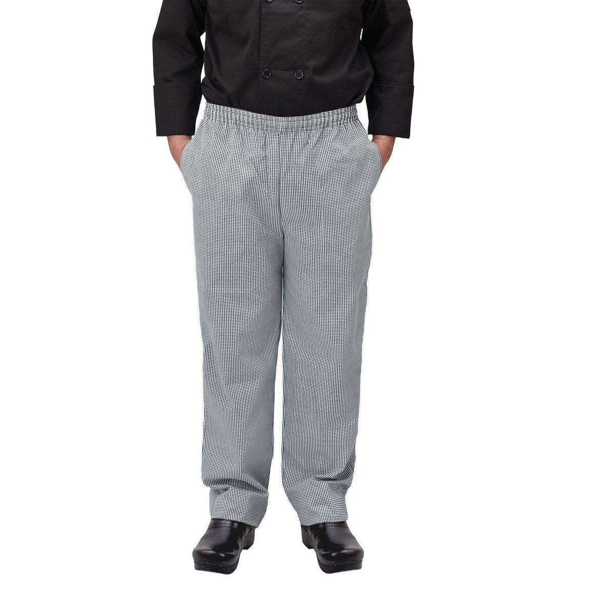 Winco - UNF-4KXL - Chef pants, houndstooth, XL - Apparel