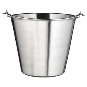 Winco - UP-13 - Utility Pail, 13qt, Stainless Steel - Food Preparation - Maltese & Co New and Used  restaurant Equipment