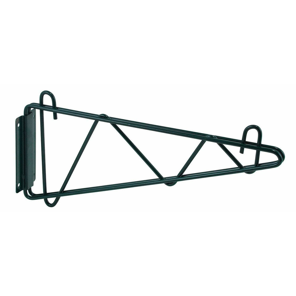 "Winco - VEXB-14 - Shelving Wall Mount Brackets, Epoxy Coated, 14""W, 1 Pair - Shelving"
