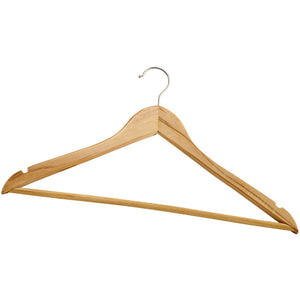 Winco - WCH-1 - Clothes Hanger, Wooden - Dining Service