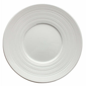 "Winco - WDP022-105 - ZENDO 6-1/2""Dia. Porcelain Round Plate, Bright White, 48 pcs/case - Dinnerware - Maltese & Co New and Used  restaurant Equipment"