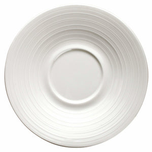 "Winco - WDP022-112 - ZENDO 6""Dia. Porcelain Saucer, Bright White, 36 pcs/case - Dinnerware - Maltese & Co New and Used  restaurant Equipment"