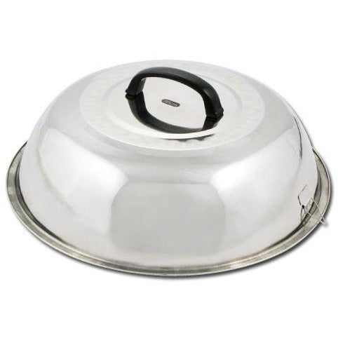 "Winco - WKCS-14 - 13-3/4"" Stainless Steel Wok Cover - Cookware"