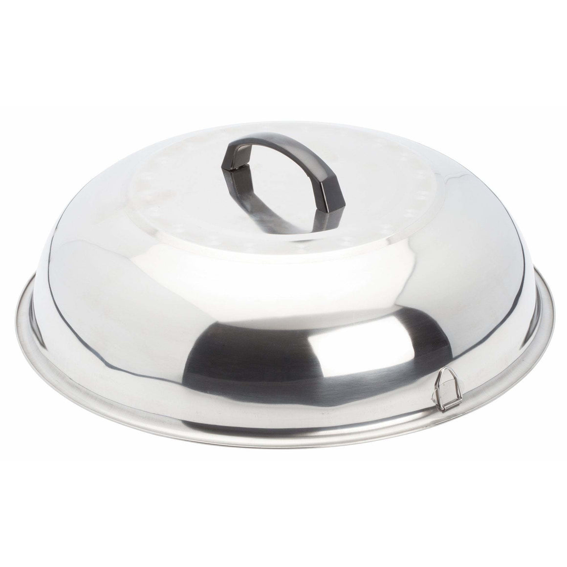 "Winco - WKCS-15 - 15-3/8"" Stainless Steel Wok Cover - Cookware"