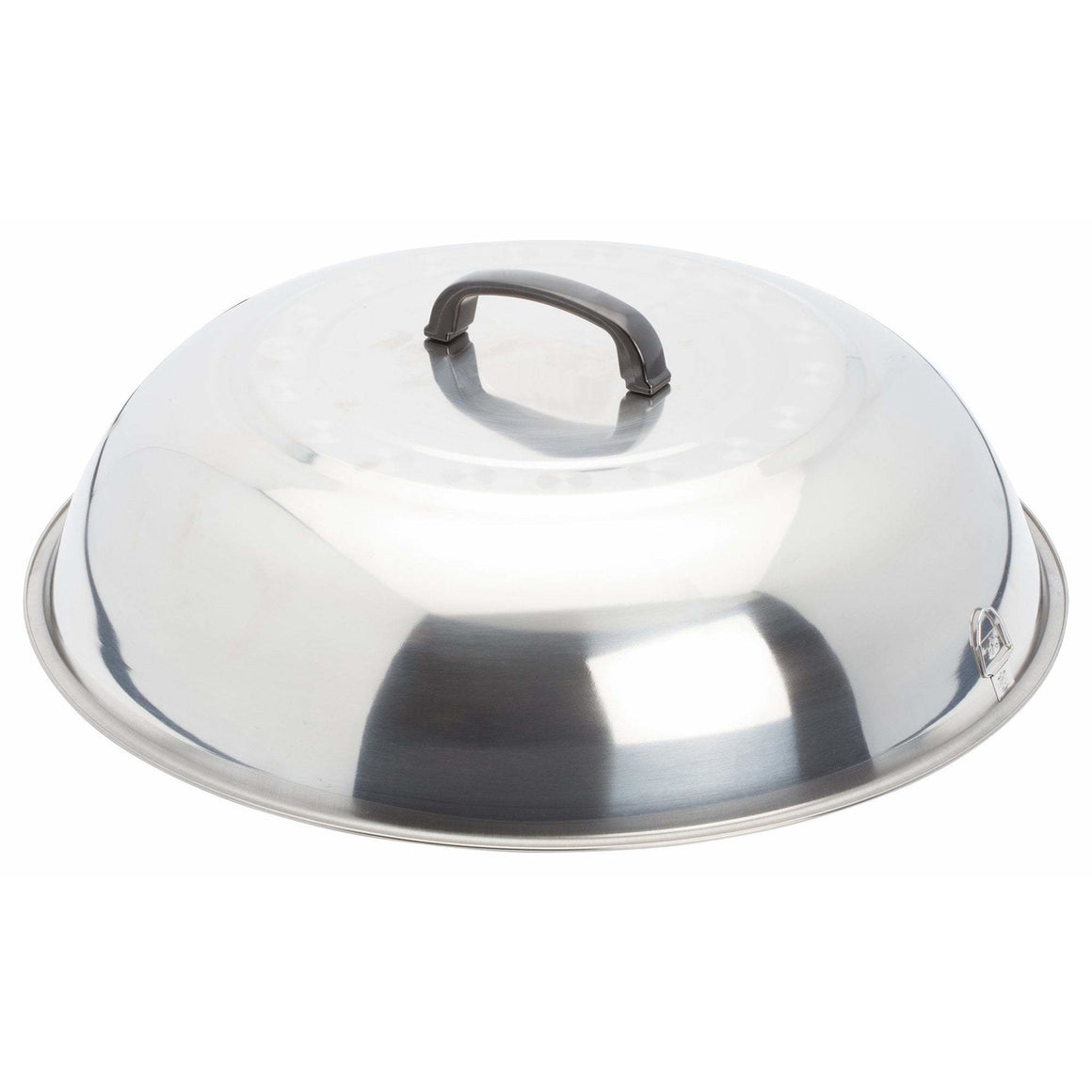 "Winco - WKCS-18 - 17-3/4"" Stainless Steel Wok Cover - Cookware"