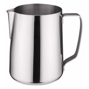 Winco - WP-66 - 66oz Frothing Pitcher, Stainless Steel - Beverage Service