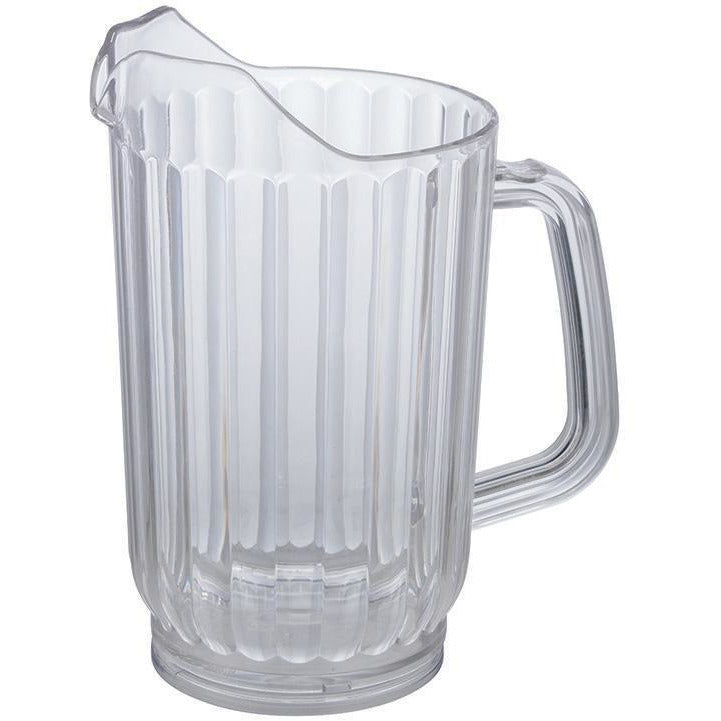 Winco - WPC-32 - 32oz PC Water Pitcher, Clear - Beverage Service - Maltese & Co New and Used  restaurant Equipment