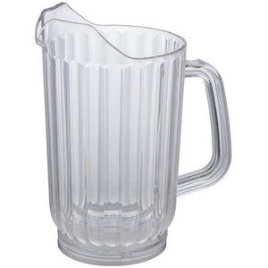Winco - WPC-48 - 48oz PC Water Pitcher, Clear - Beverage Service