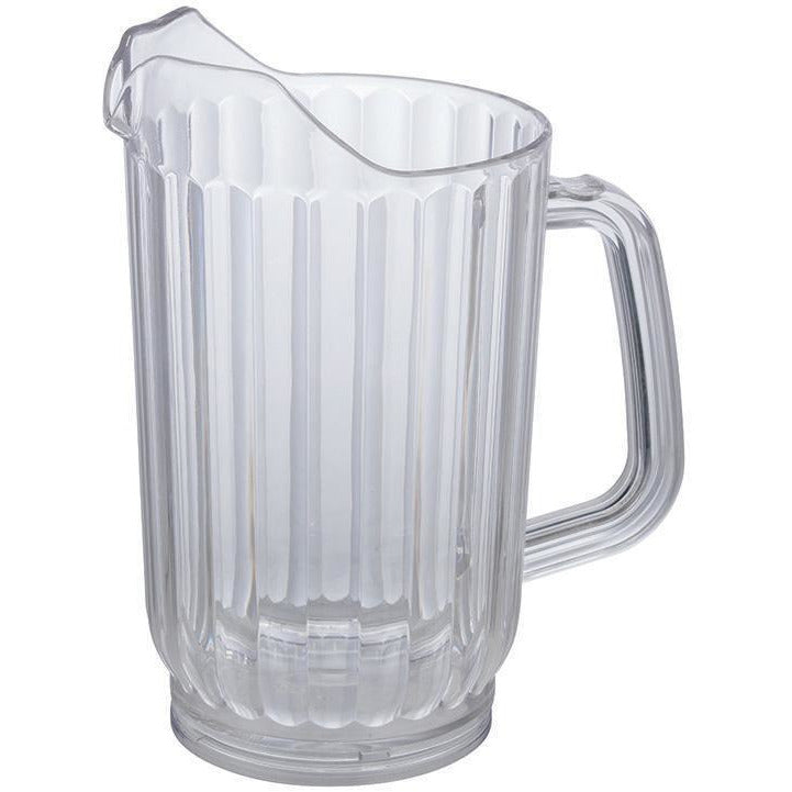 Winco - WPC-48 - 48oz PC Water Pitcher, Clear - Beverage Service - Maltese & Co New and Used  restaurant Equipment