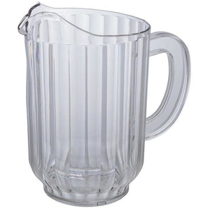 Winco - WPC-60 - 60oz PC Water Pitcher, Clear - Beverage Service