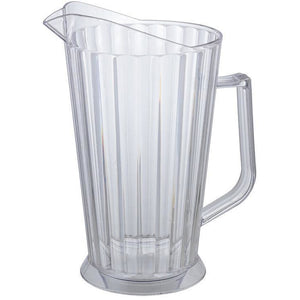 Winco - WPCB-60 - 60oz PC Beer Pitcher, Clear - Beverage Service