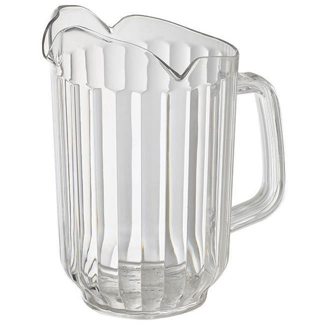 Winco - WPCT-60C - 60oz PC Pitcher, 3 Spout, Clear - Beverage Service - Maltese & Co New and Used  restaurant Equipment