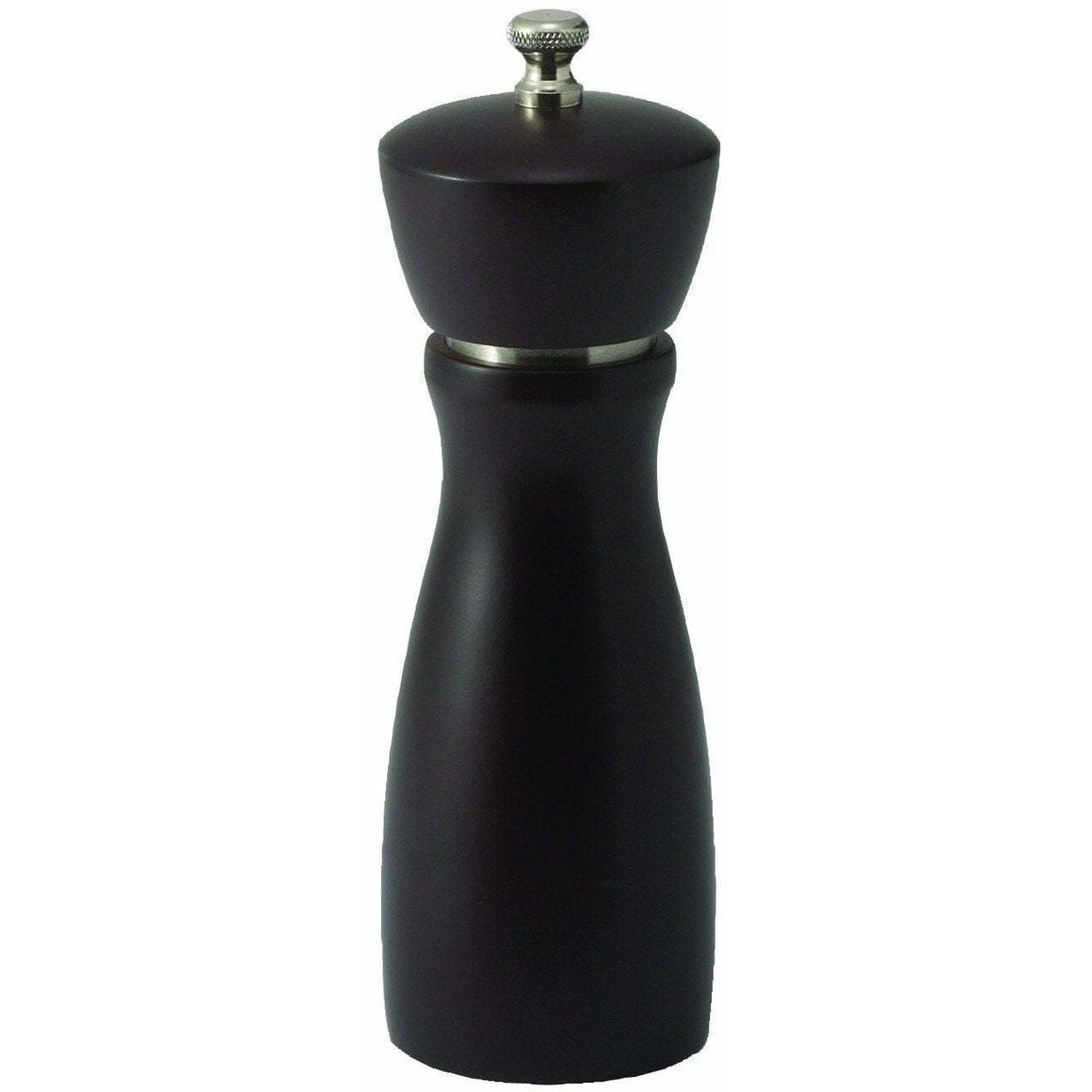 "Winco - WPM-6CD - 6"" Maestro Pepper Mill, Modern Espresso Finish - Tabletop"