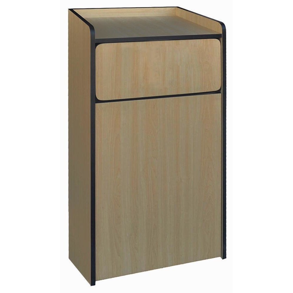 Winco - WR-35 - Waste Receptacle, fit up to 35 gallon trash can  - Janitorial