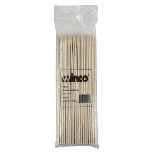 "Winco - WSK-08 - 8"" Bamboo Skewers, 100/bag - Kitchen Utensils - Maltese & Co New and Used  restaurant Equipment"