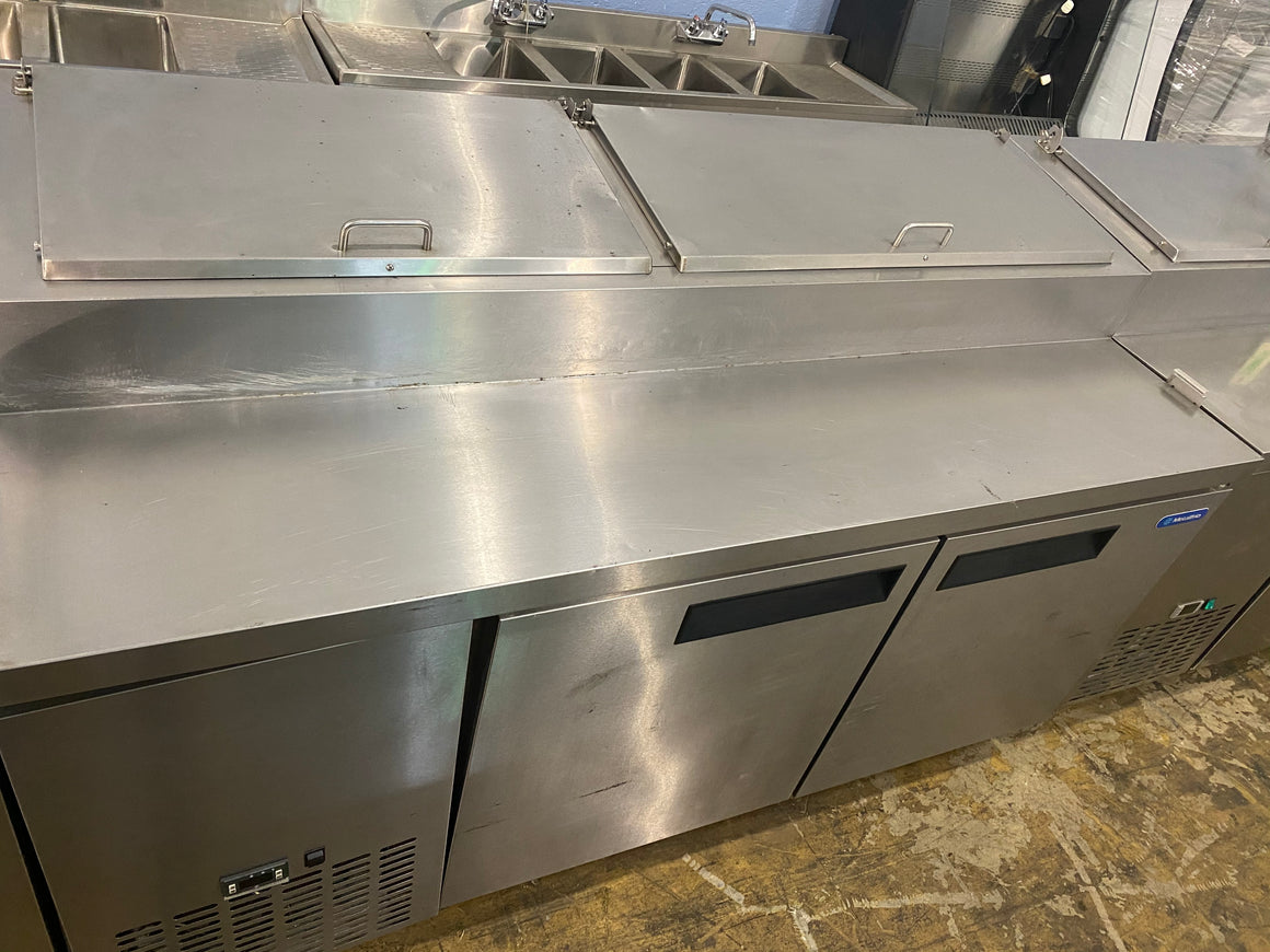 "Metalfrio PICL2-71-9 71"" Two Door Pizza Prep Table USED"