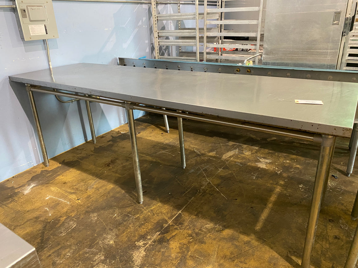 Stainless Steel Bakery Table 30 x 96