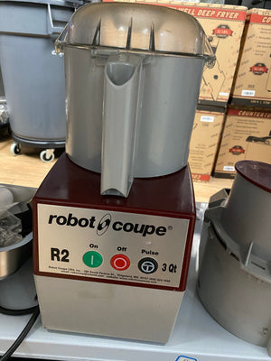 ROBOT COUPE R2N FOOD PROCESSOR - Maltese & Co New and Used  restaurant Equipment