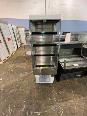 USED Kool It KOM-24 SS Open Air Merchandiser Cooler