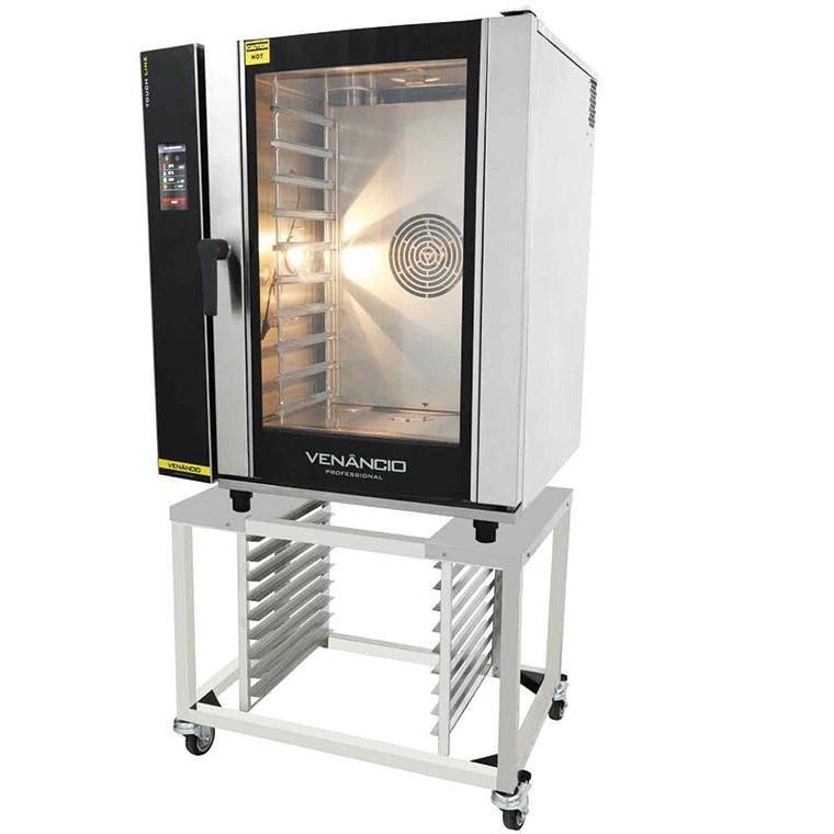 Venancio - Full Size 10 Tray Gas Combi Easy Cooking Oven -  Digital Controls, Recipes - WIFI - TCO10G